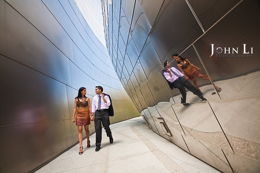 Disney-Hall-Engagement-photography