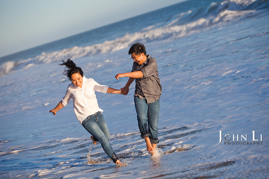 ventura county engagement beach