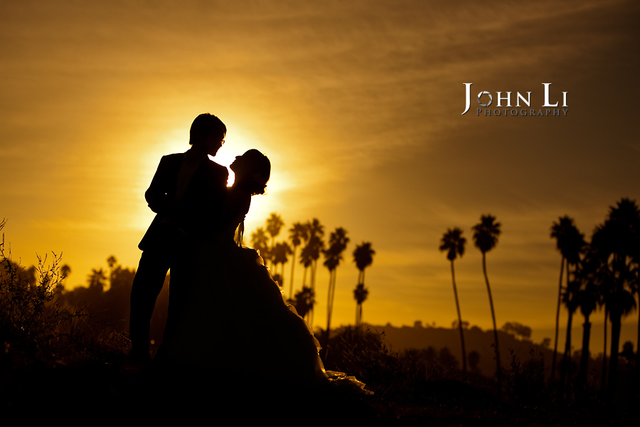 14 Beach wedding in Santa Barbara sunset