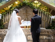 121洛杉矶玻璃旅人教堂婚礼流程Wayfarers chapel  Wedding
