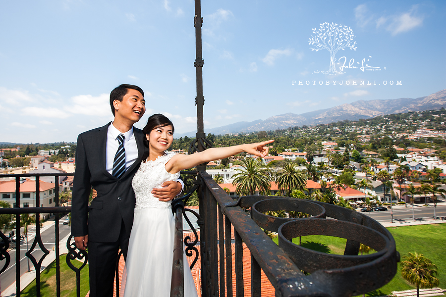 010 Santa  Barbara court house wedding Photography