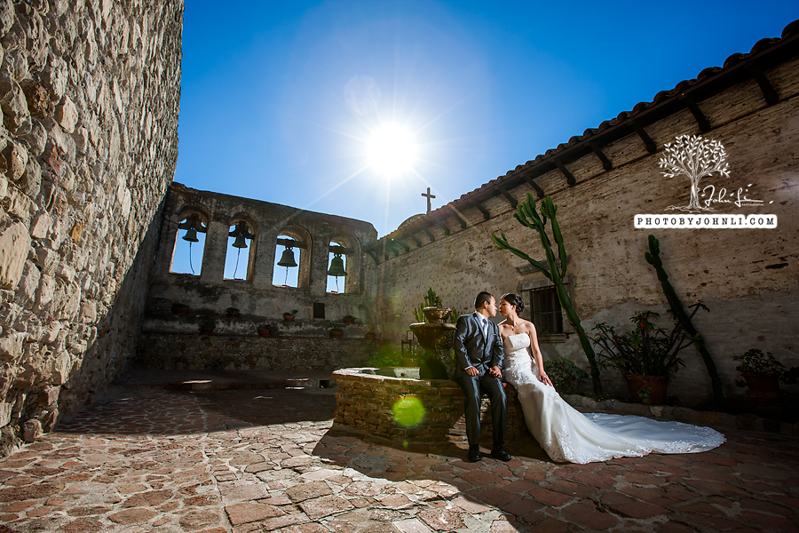 007 Mission San Juan Capistrano wedding engagement