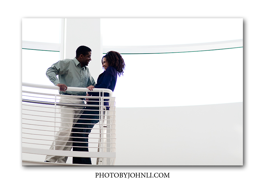 Getty Center Engagement photos