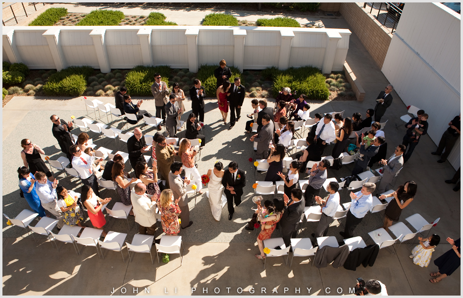 Annenberg Beach House wedding ceremony suite