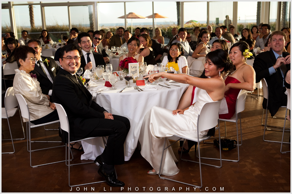Annenberg Beach House wedding reception