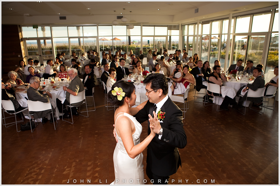 first dance Annenberg Beach House