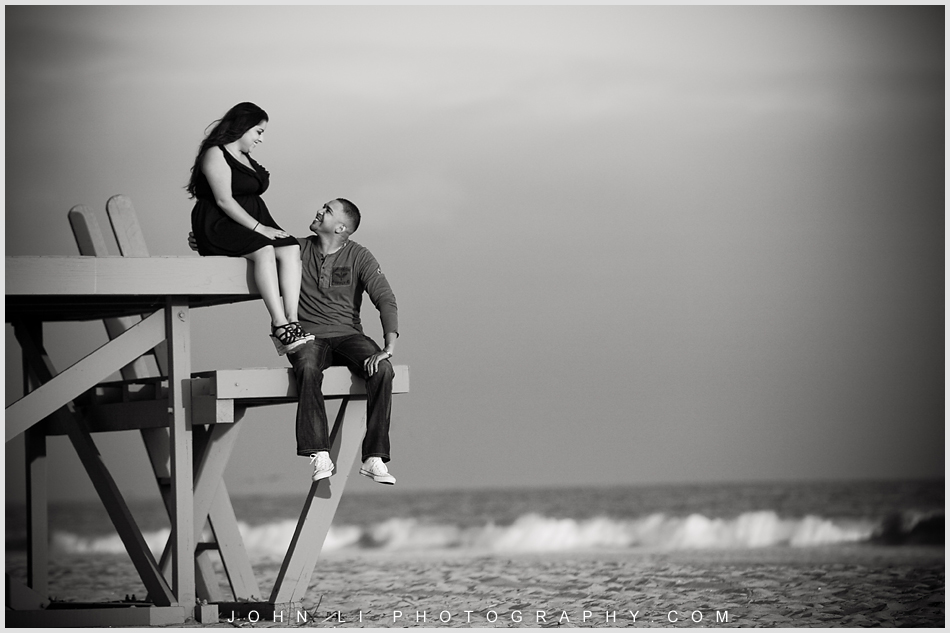 Newport Beach engagement session photos