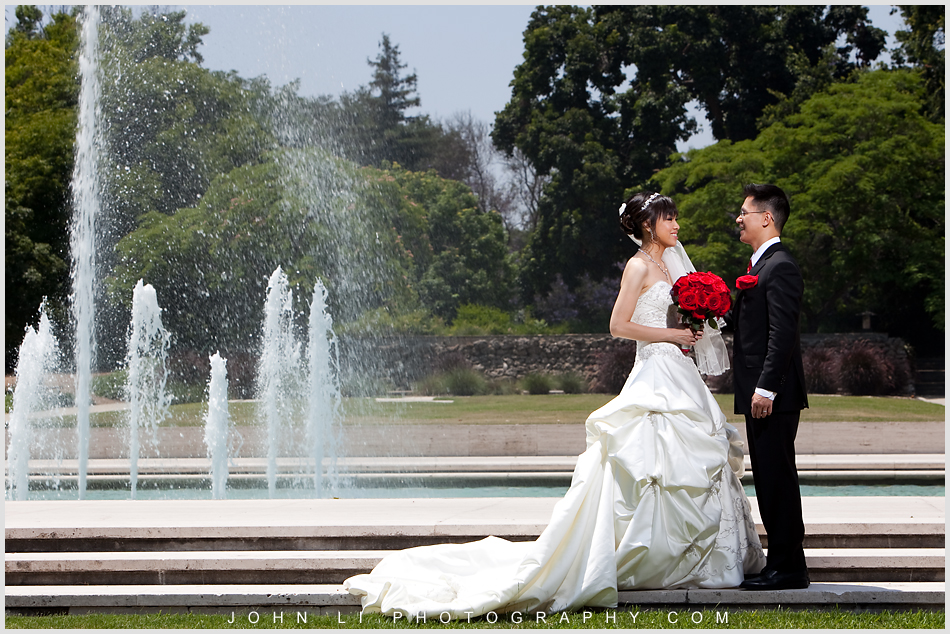 La Arboretum Wedding Photography Almansor Court Wedding Ceremonyjohn Li Photography
