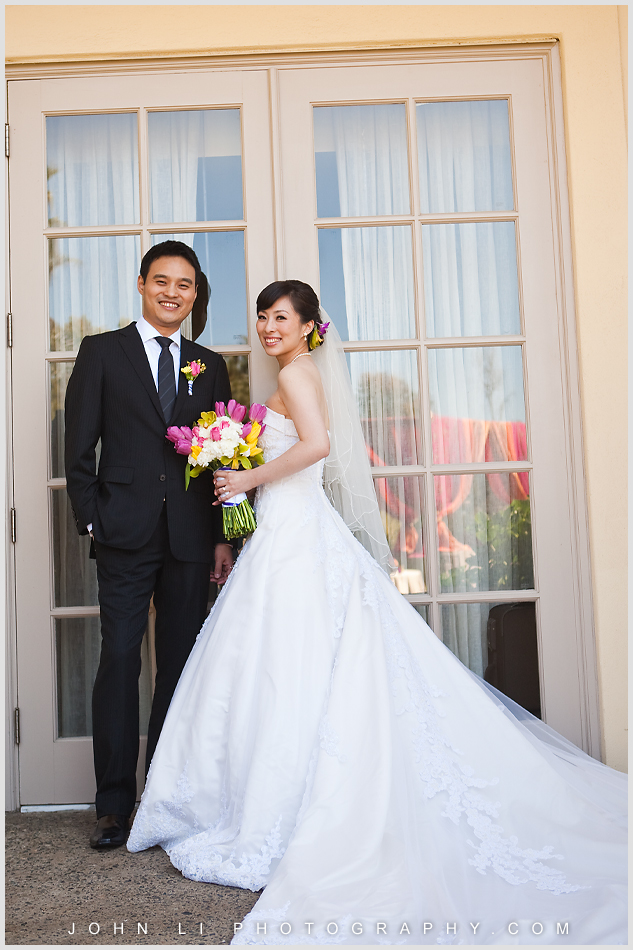 Bridal portrait in Ritz Carlton Wedding