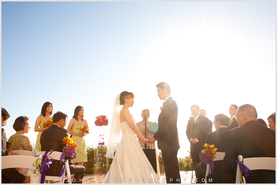 wedding ceremony in  Ritz Carlton Hotel Dana Point