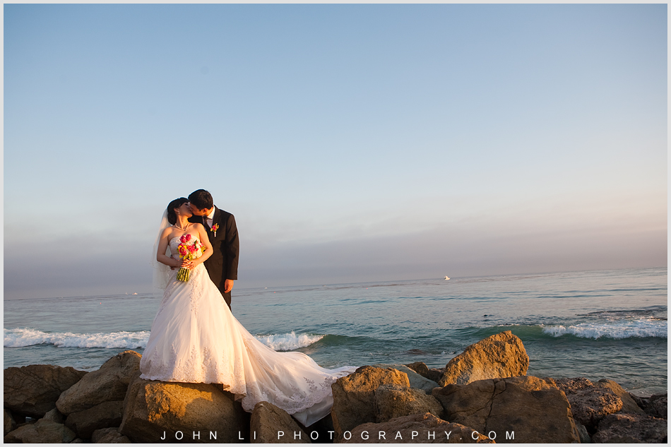 Bridal photo session after the Ritz Carlton Hotel wedding ceremony