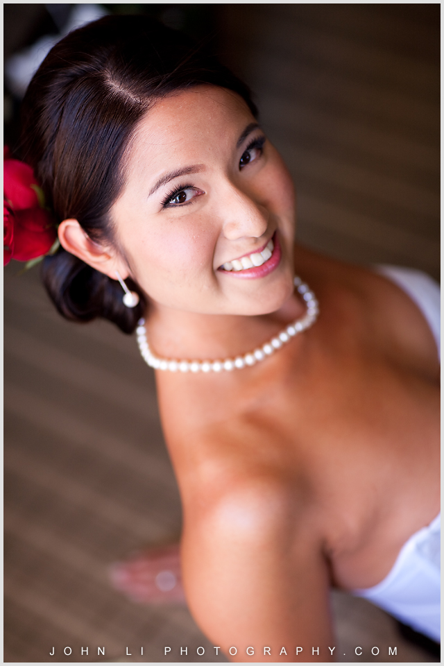 Hyatt Westlake Plaza in Thousand Oaks bridal portrait