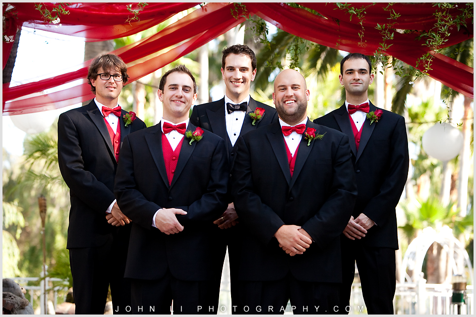 groomsmen group photos in Rancho De Las Palmas