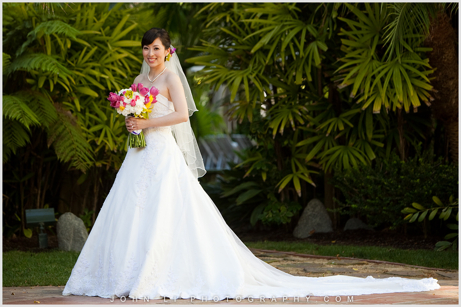 Bridal Portrait in  Ritz Carlton Dana Point