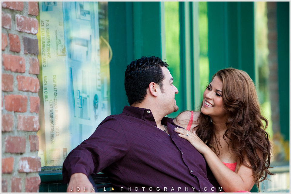 San Dimas engagement by La Verne Wedding photographer