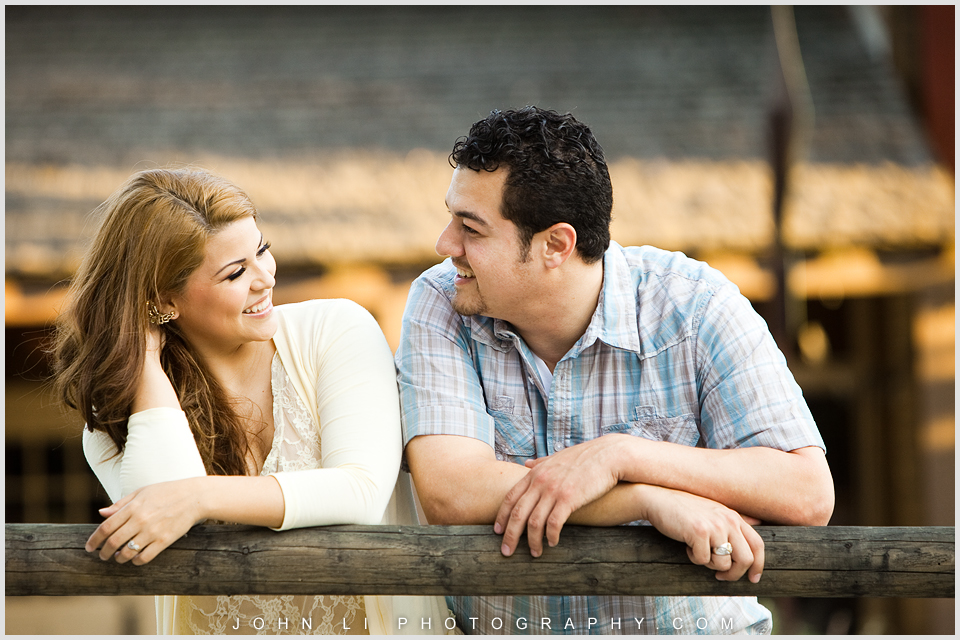 Los Angeles engagement session in La Verne