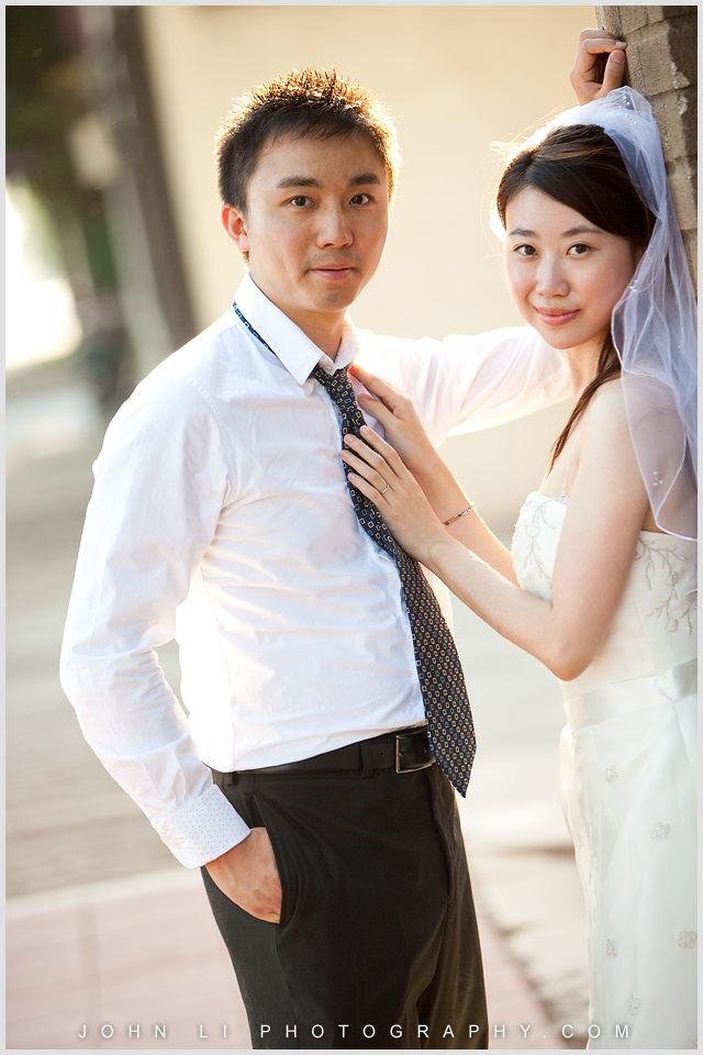wedding photography in San Dimas downtown