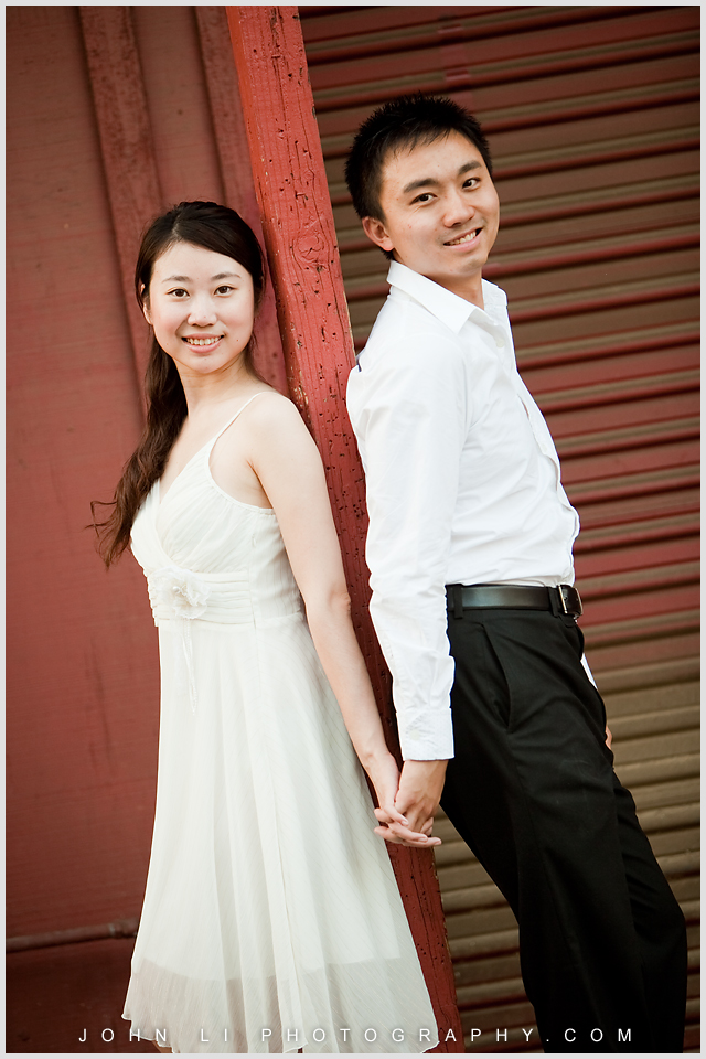 chinese pre wedding photos in Los Angeles