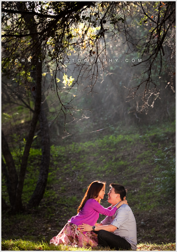 engagement temescal gateway park photography