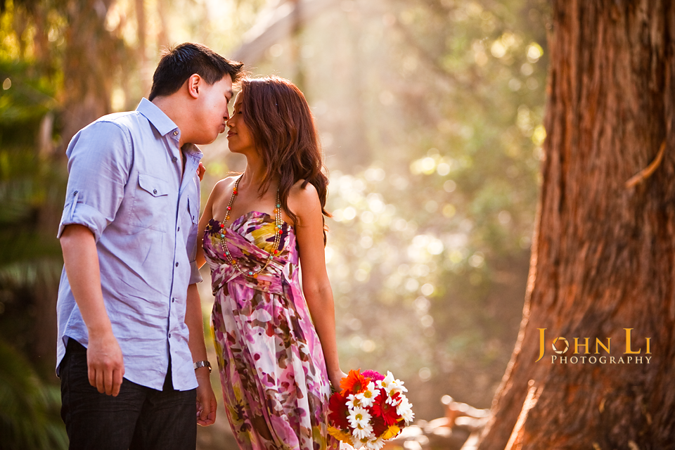wedding engagement temescal gateway park