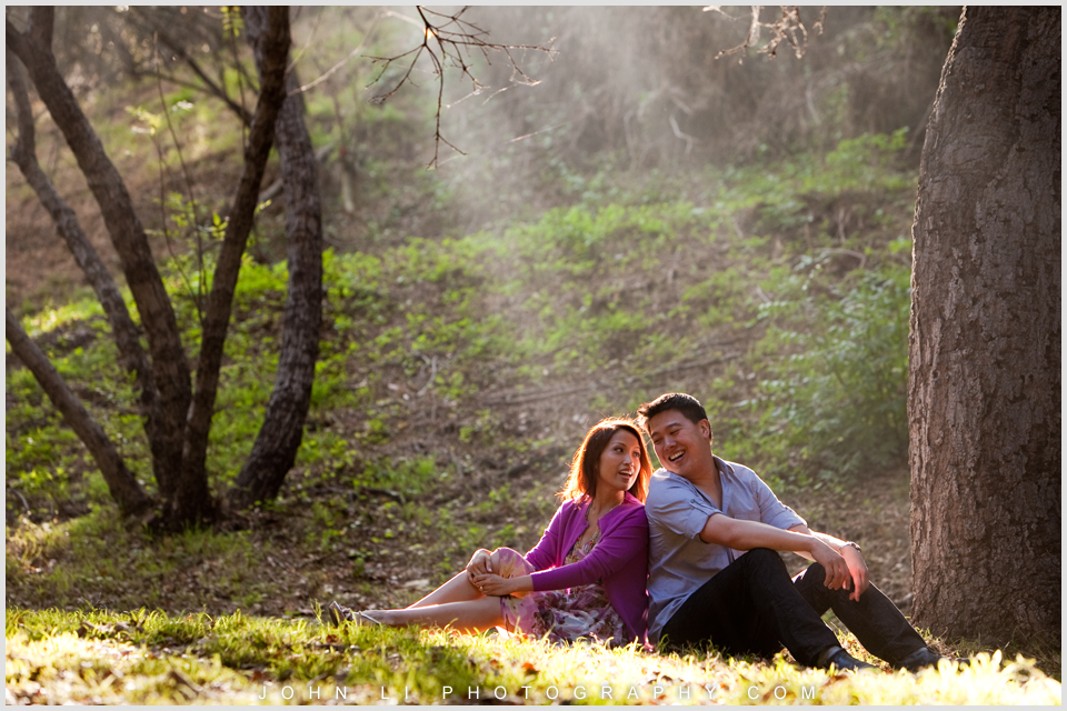 temescal gateway park photography engagement