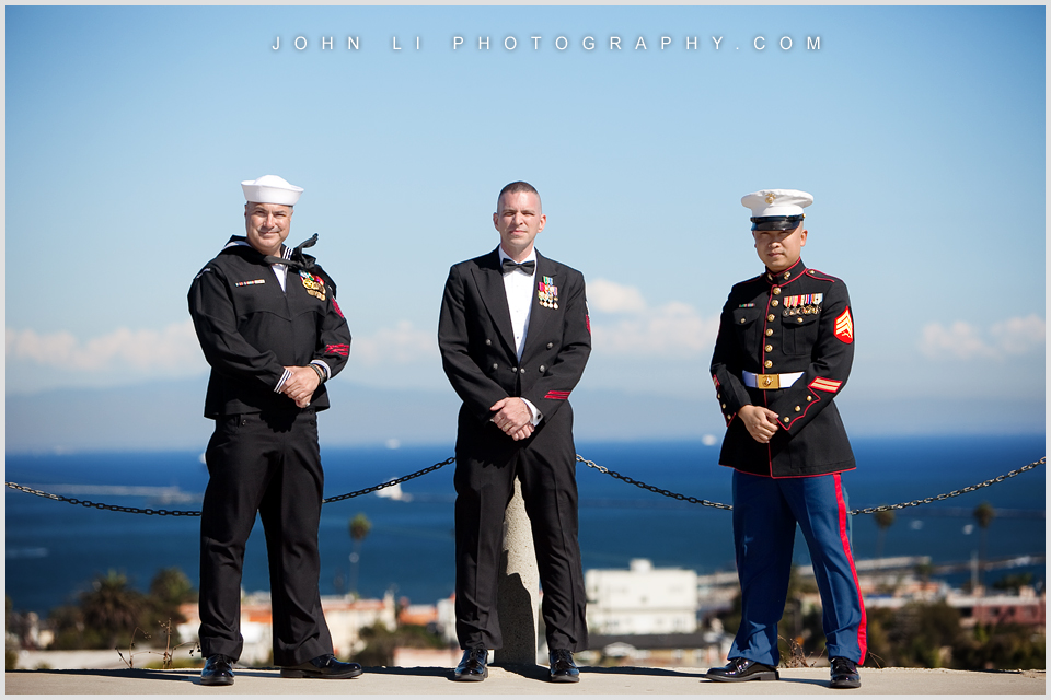 Military Wedding in Korean Bell