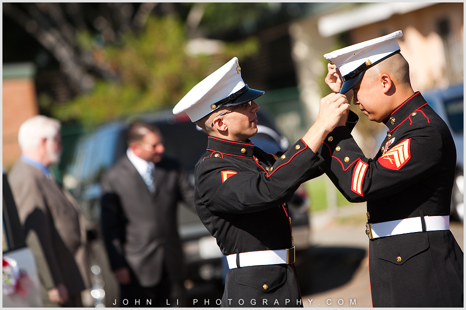 Rosemead Military wedding photos