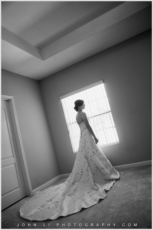 San Gabriel wedding bride