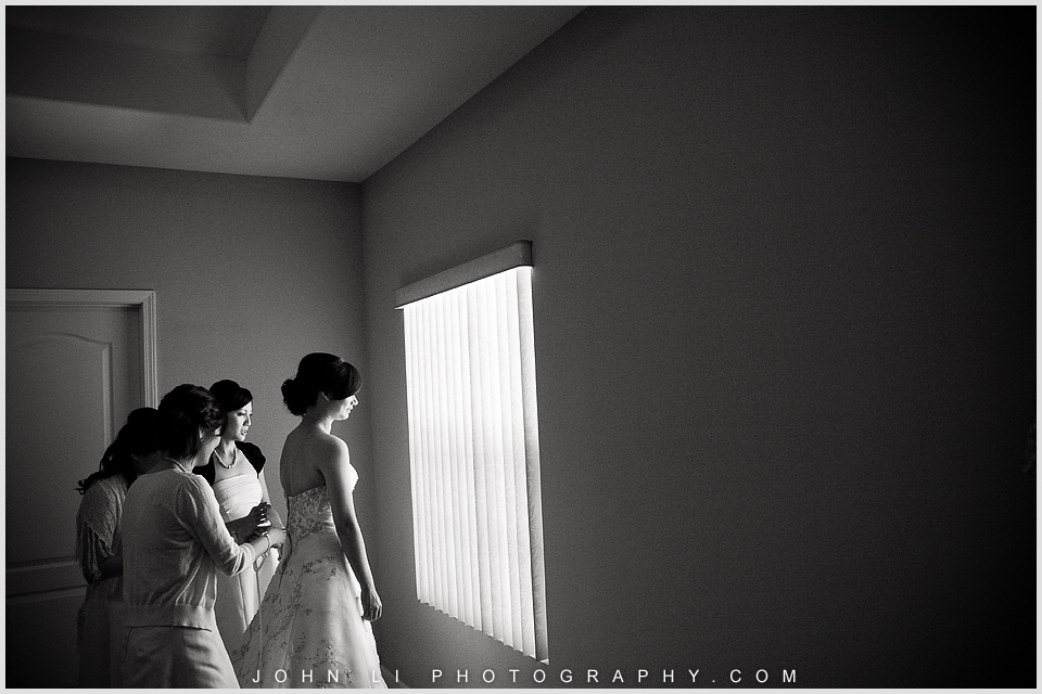 San Gabriel wedding photography bride getting ready