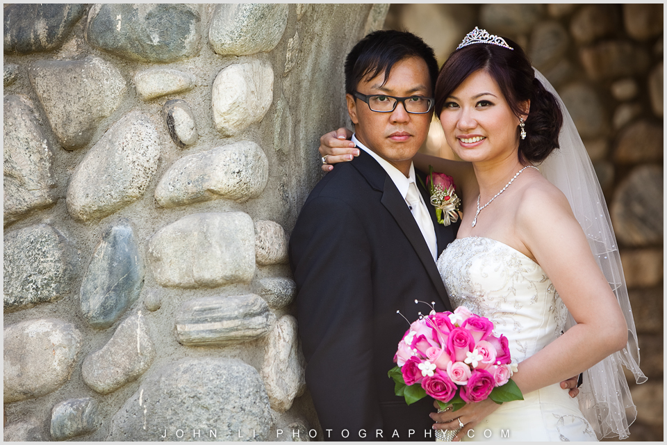 Santa fe dam wedding portrait