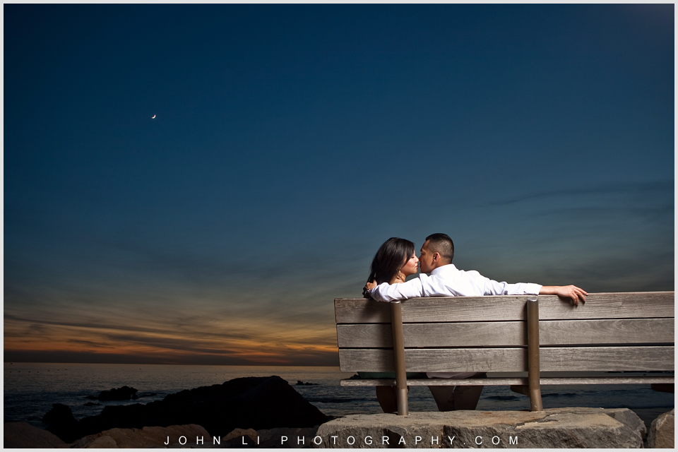 Dina Point engagement photography wedding beach