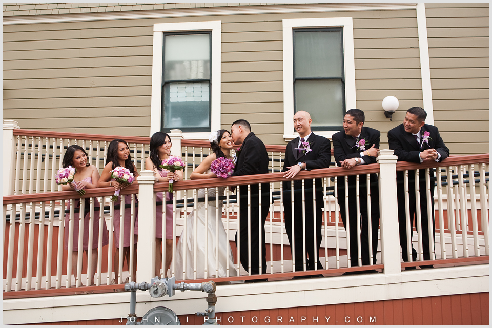 San Dimas downtown wedding photos