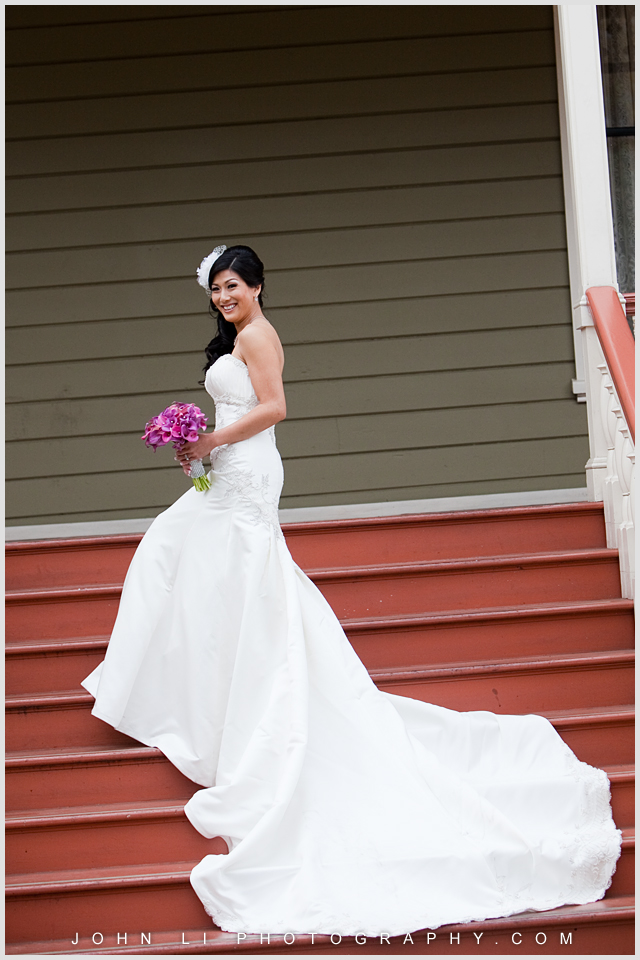 bridal portrait la verne photographer