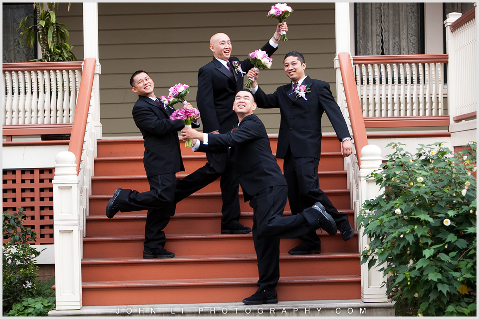 la verne wedding photographer grooms men
