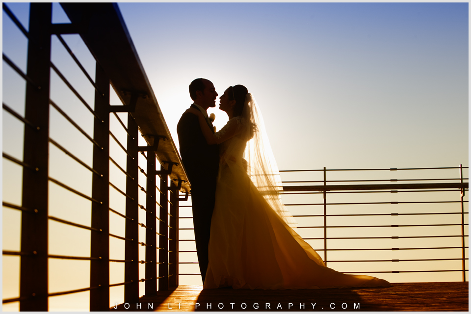 Beach wedding photography in Santa Monica