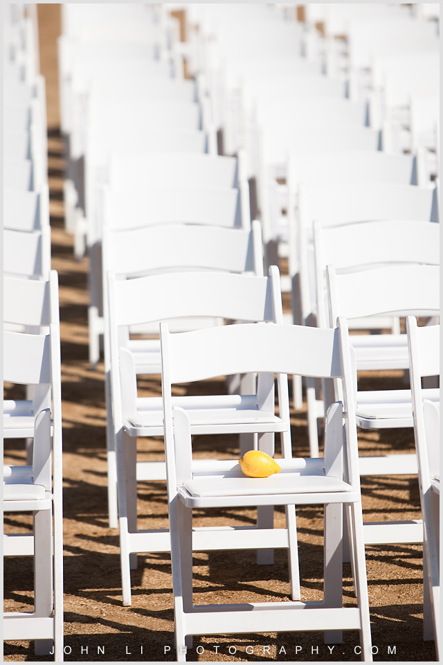 Limoneira Ranch Wedding photos chairs
