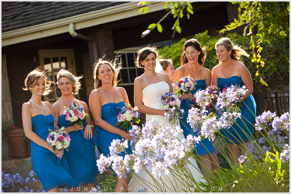 Limoneira Ranch wedding photos bride party