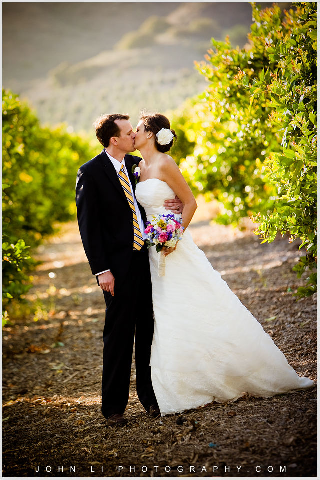 Limoneira Ranch wedding bridal photos
