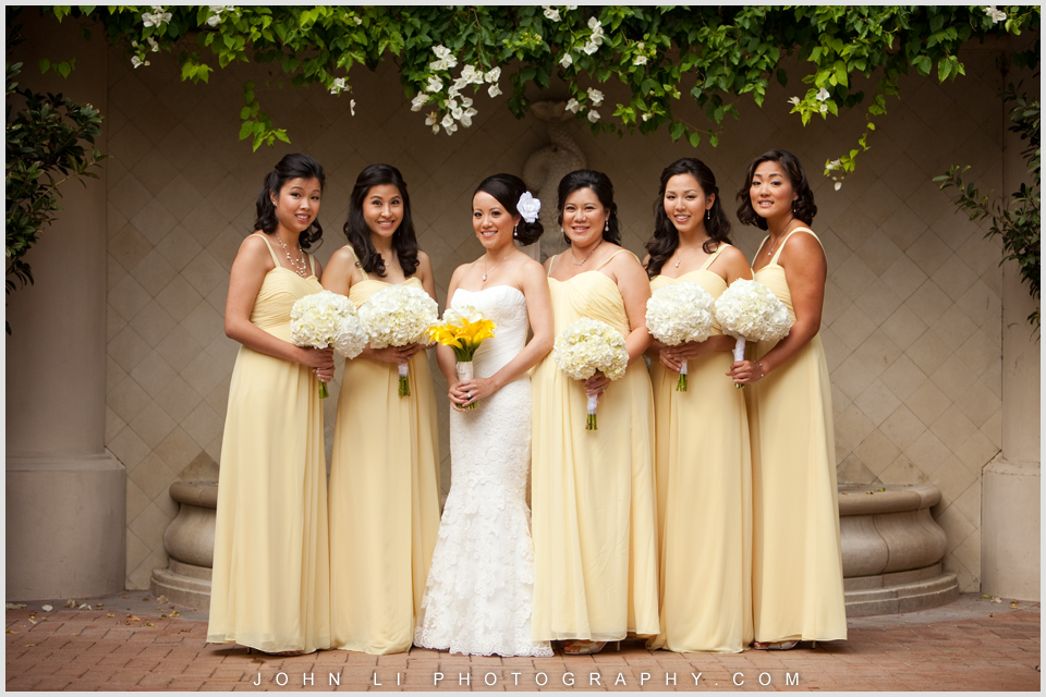 Pelican HIll wedding bridal party