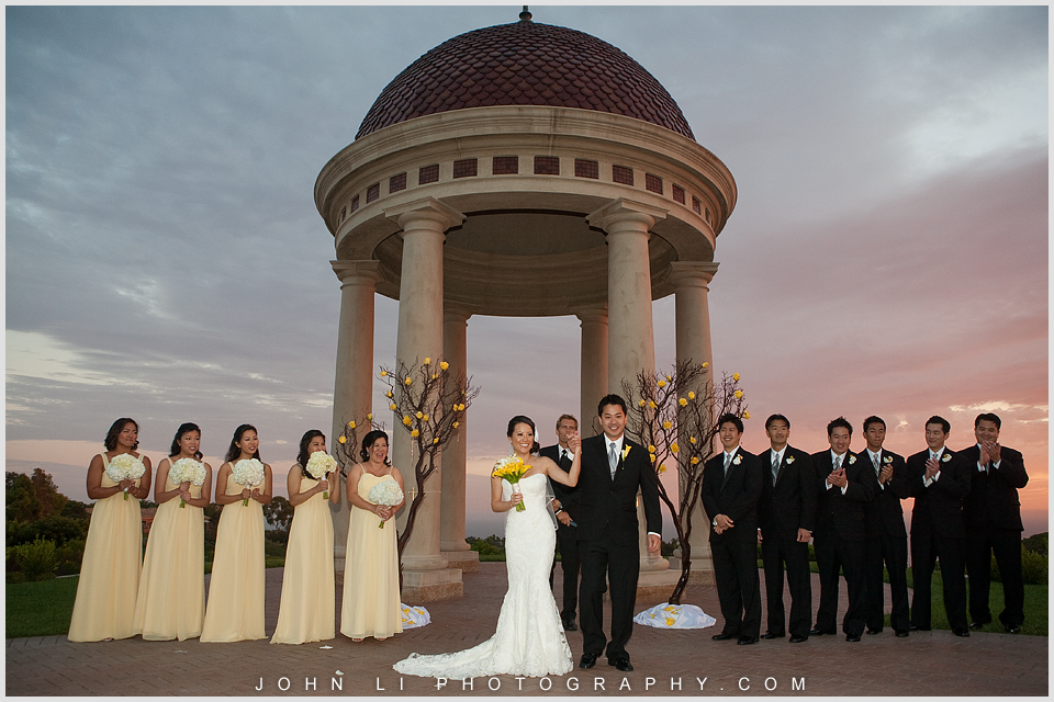 Pelican Hill wedding ceremony location