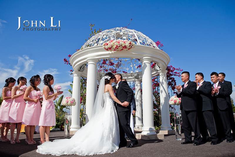 San Gabriel Hilton wedding ceremony