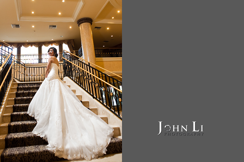 San Gabriel Hilton wedding photos bridal Portrait