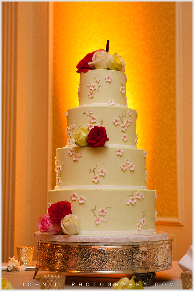 Santa Monica wedding Wedding cake