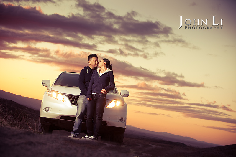 Sunset Engagement photos EJ