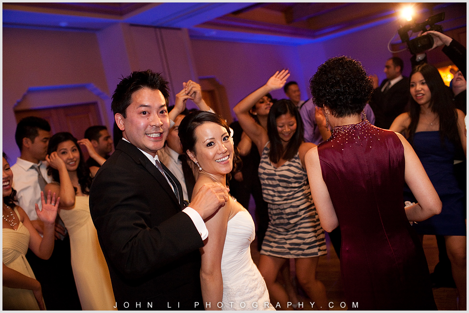 dance Pelican Hill wedding reception