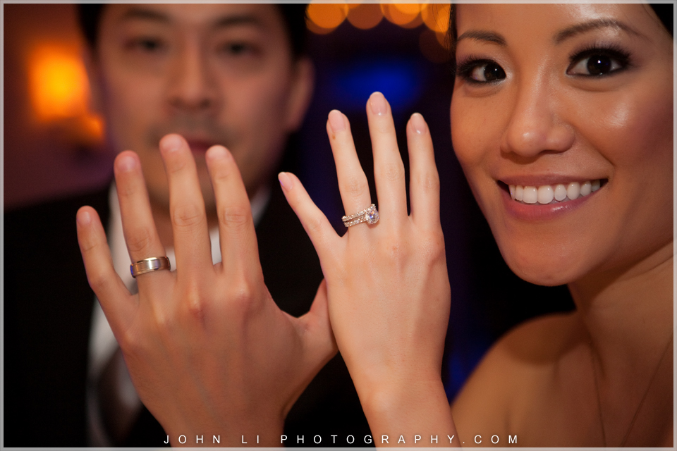 ring shot Pelican Hill wedding
