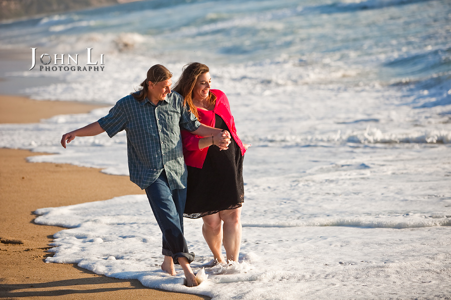 Beach engagement in Redondo beach