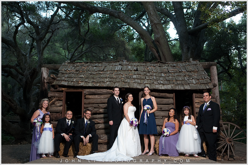 Calamigos Ranch bridal party photos Malibu
