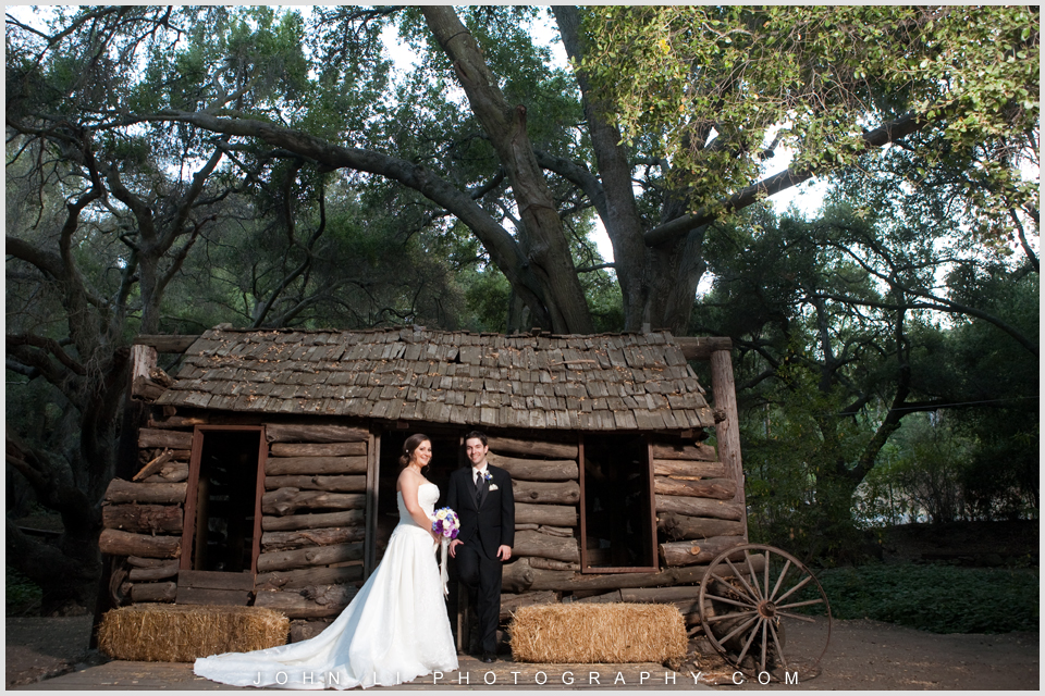 Calamigos Ranch bridal portrait Malibu