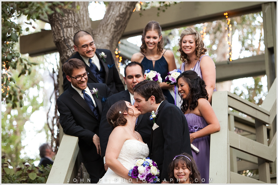 Group photos from Malibu wedding